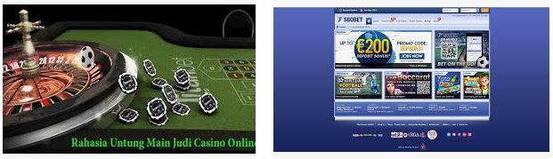 Keuntungan bermain casino online sbobet
